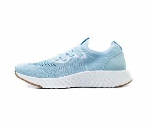 Women's sneakers, light blue