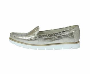 Women's shoe, gold