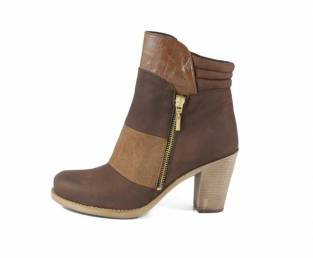 B QUEEN BOROVO, WOMEN'S ANKLE BOOTS, BROWN