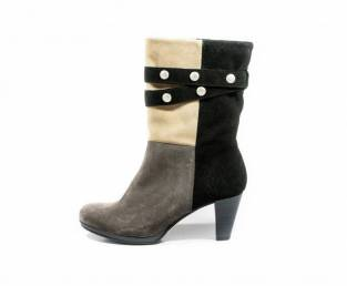B QUEEN BOROVO, WOMEN'S ANKLE BOOTS, COLOR COMBINATION