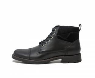 Men's ankle boots, Black