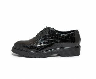 Women's shoe, black, patterned