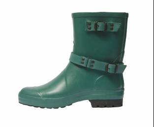 RUBBER LOW RUBBER BOOT, GREEN
