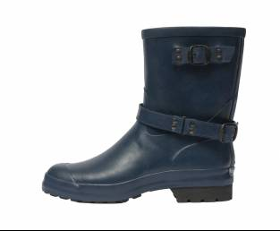 RUBBER LOW RUBBER BOOT, BLUE